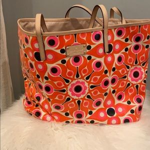 Kate Spade Coated Canvas RETRO Tote